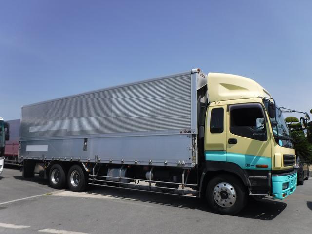 いすゞ アルミウイング 3軸 メーター1回転 合計136万キロ