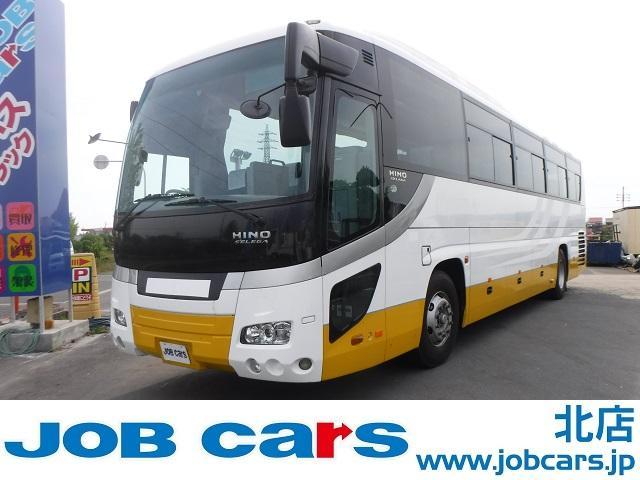日野 セレガ JBUS 一般観光ハイデッカー 12列62人