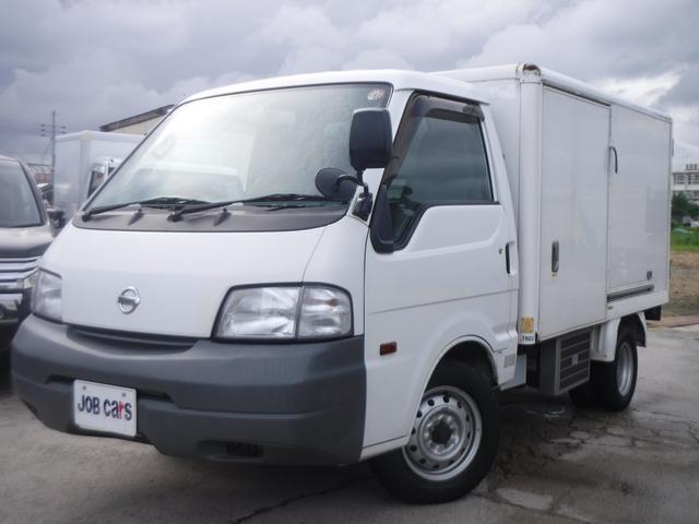 日産 冷蔵冷凍車 中温 -5℃設定 5MT ガソリン車