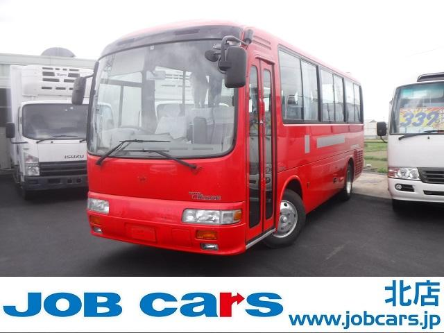 日野 リエッセ  観光バス 29人乗 全席モケリク エアサス ターボ車  リアエンジン