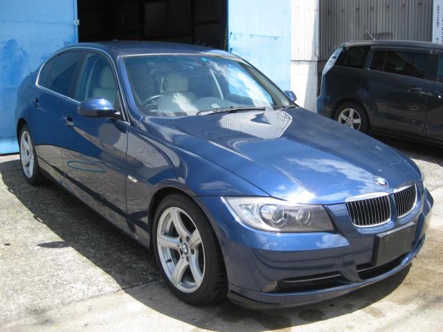 BMW 330i ハイラインパッケージ 6速AT ベージュ革シート 両席パワーシート シートヒーター ETC エンジンプッシュ 純正ミラーETC フロントアンダーリップ