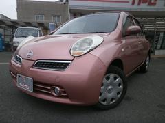 マーチ14E FOUR 純正ナビ スマートキー ユーザー買取車