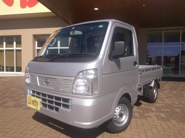 日産 NT100クリッパートラック DX 3AT パ-トタイム4WD AC PS WエアB