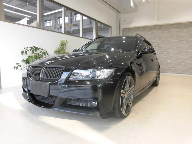 BMW 3シリーズ 320iツーリング 社外20インチAW 社外4...
