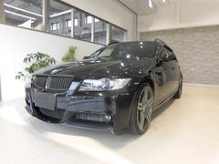 BMW320iツーリング 社外20インチAW 社外4本出しマフラー