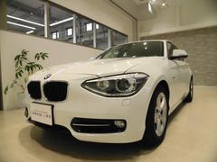 BMW116i スポーツ 禁煙車 プッシュスタート HDDナビ