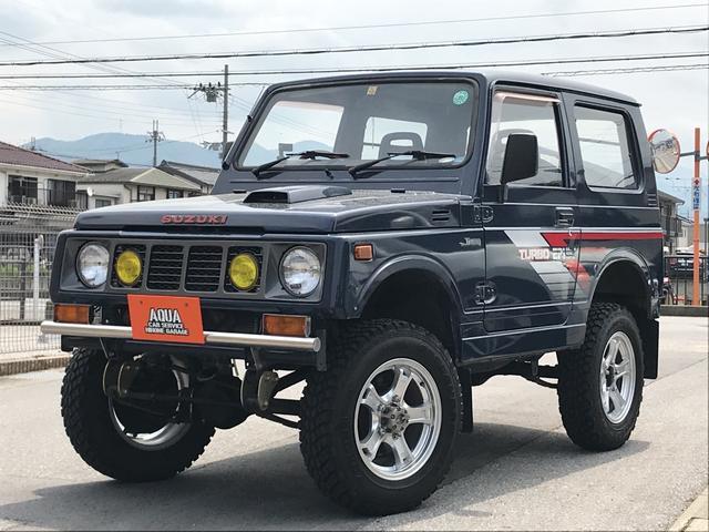 スズキ インタークーラーターボ 4WD 5MT リフトアップ