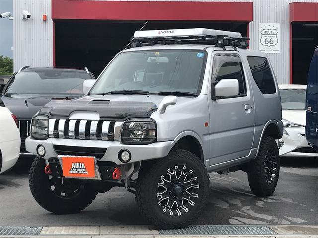 スズキ XC 4WD ターボ AT車 APIO リフトアップ