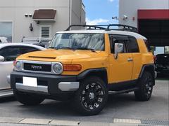 FJクルーザーコンビニエンスPK 4WD 社外18AW・ルーフキャリア
