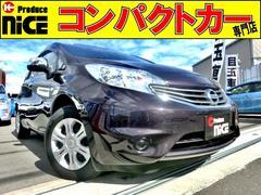 ノートX 純正SDナビ CD再生 SD 地デジ プッシュスタート