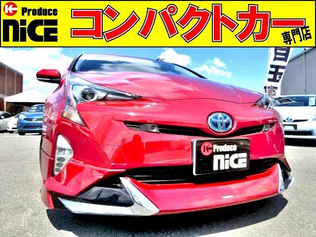 トヨタ Aツーリングセレクション エアロ・レザーシート・安全ブレーキ