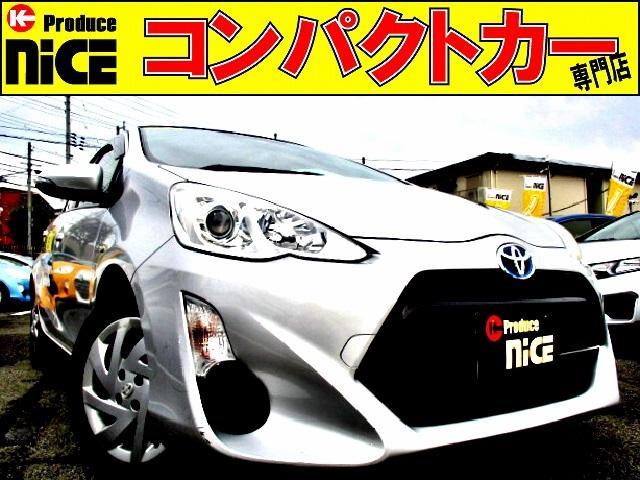トヨタ S スマートキー・シートヒーター・社外SDナビ・Bluetooth・フルセグTV・Bカメラ・ETC・プッシュスタート・オートエアコン・ウィンカーミラー・プロジェクターヘッドライト