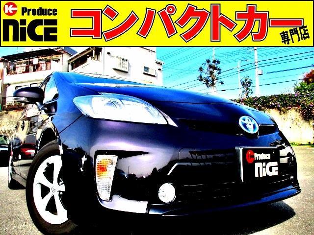 トヨタ S 後期型!フォグライト・ETC・Bカメラ・アルパインメモリーナビ・Bluetooth・フルセグTV・HIDヘッドライト・オートエアコン・スマートキーウインカードアミラー
