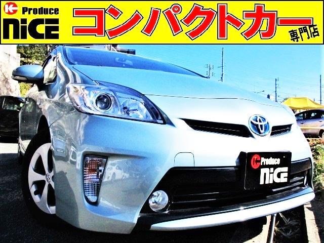 トヨタ S 後期型・ETC・アルパインSDナビ・Bluetooth・ワンセグTV・フォグライト・HIDヘッドライト・プッシュスタート・スマートキー・ウインカードアミラー・オートエアコン
