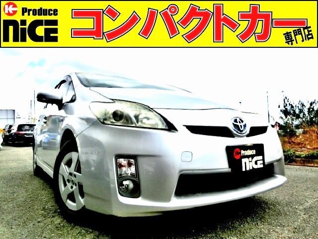 トヨタ S 純正ナビ・ワンセグTV・SD・AUX・バックカメラ・ETC・フォグライト・プロジェクターヘッドライト・プッシュスタート・オートエアコン・コーナーポール・ウインカードアミラー
