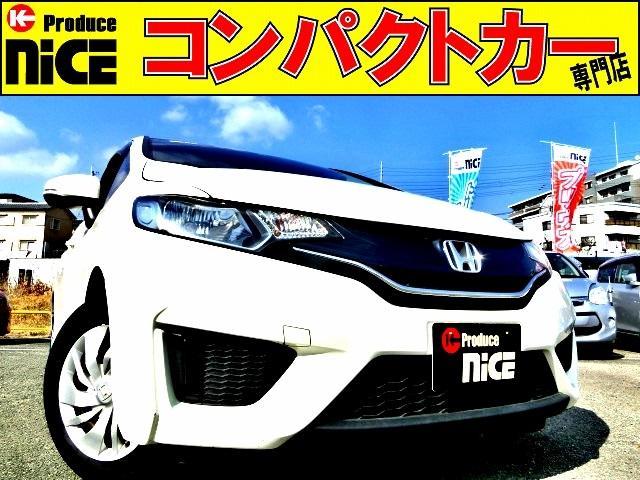 ホンダ 13G・Fパッケージ ETC・純正オーディオデッキ・CD再生・AUX・プッシュスタート・スマートキー・ハロゲンヘッドライト・アイドリングストップ・ウインカーミラー・14インチタイヤ