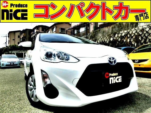 トヨタ L ETC・イクリプスメモリーナビ・Bluetooth・地デジTV・プロジェクターヘッドライト・オートエアコン・電動格納式ウインカードアミラーキーレス・14インチタイヤ