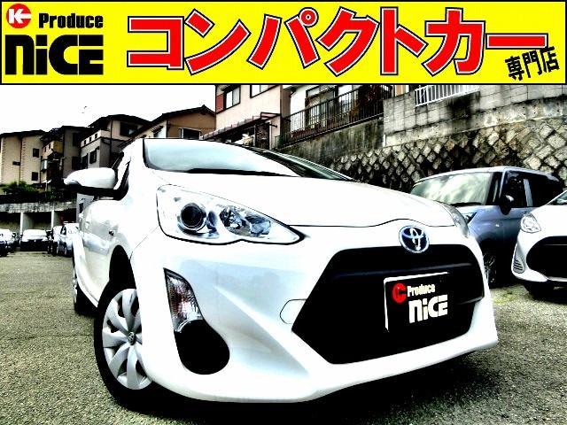 トヨタ L 純正DVDナビ・ETC・オートエアコン・プロジェクターヘッドライト・14インチタイヤ・キーレス・電動格納式ウインカードアミラー・アイドリングストップ