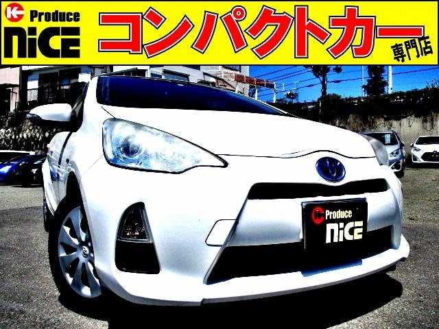 トヨタ S 純正SDナビ・Bluetooth・フルセグTV・Bカメラ・シートエアコン・15インチスタッドレスタイヤ・オートエアコン・プロジェクターヘッド・電動格納式ウインカーミラー