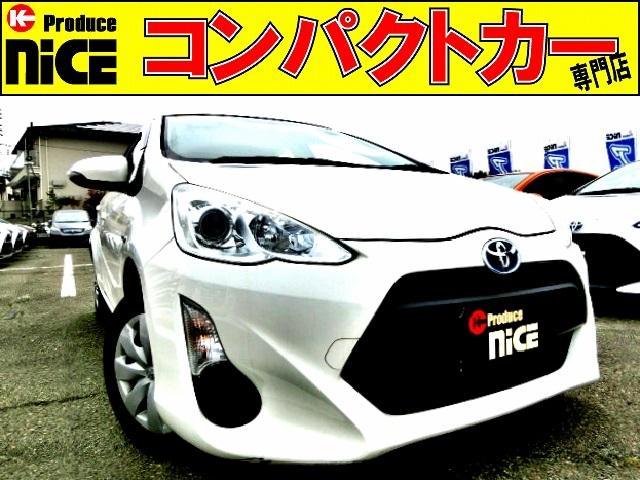 トヨタ L ドライブレコーダー・純正ナビ・Bluetooth・ETC・プロジェクターヘッドライト・オートエアコン・電動格納式ウインカードアミラー・14インチタイヤ