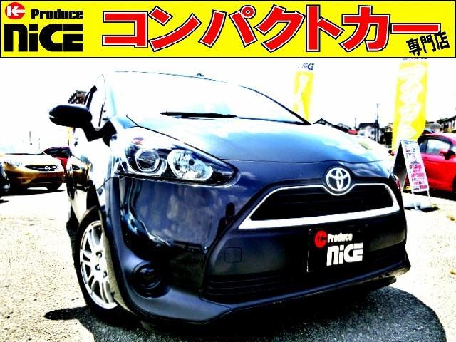 トヨタ シエンタ X 純正SDナビ・Bluetooth・ワンセグTV・ETC・コーナーセンサー・スマートキー・プロジェクターヘッドライト・片側電動スライドドア・スタッドレスタイヤ・アイドリングストップ