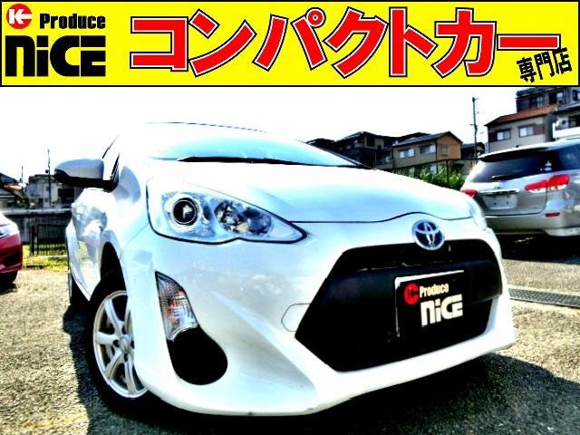 トヨタ L 純正SDナビ・Bluetooth・ETC・14AWスタッドレスタイヤ・オートエアコン・キーレス・プロジェクターヘッドライト・ウインカードアミラー・アイドリングストップ
