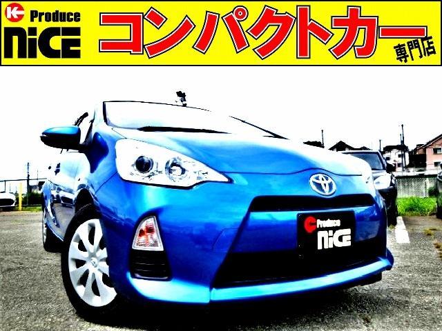 トヨタ S スマートキー・プッシュスタート・Bカメラ・ETC・純正ナビ・Bluetooth・ワンセグTV・オートエアコン・プロジェクターヘッドライト・ウインカードアミラー・アイドリングストップ