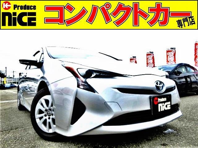 トヨタ E ドラレコ・純正SDナビ・Bluetooh・ワンセグTV・ETC・LEDヘッドライト・プッシュスタート・オートエアコン・スマートキーウインカードアミラー・アイドリングストップ