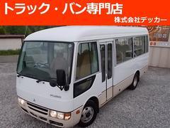 ローザマイクロバス 26人乗 軽油 NOX適  手動ドア
