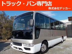 シビリアンバスマイクロバスロング 29人乗 自動扉 AT NOX