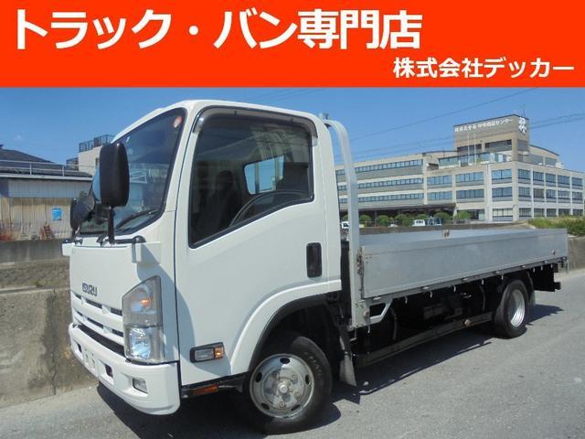 いすゞ 2トン ワイドロング 低床 アルミブロック 4WD NOX
