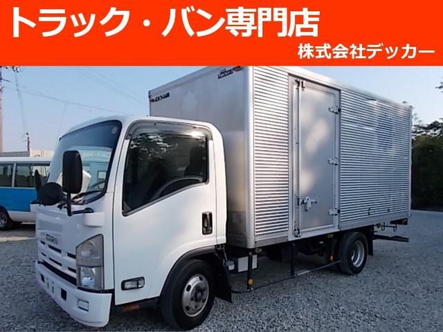 いすゞ 2トン アルミバン 荷寸448-207-204 ナビ NOX