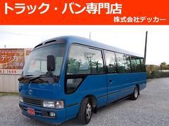 コースターマイクロバス 29人乗 自動扉 ハイルーフ NOX ステップ