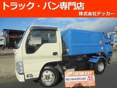 エルフトラック2トン パッカープレス式ダンプ 3.2立米 NOX Bカメラ