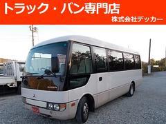 ローザマイクロバスAT 29人乗自動扉NOXモケットリクライニング