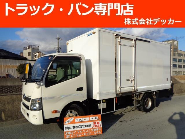 日野 4tパネルバン ワイドL 荷寸450-206-197 NOX