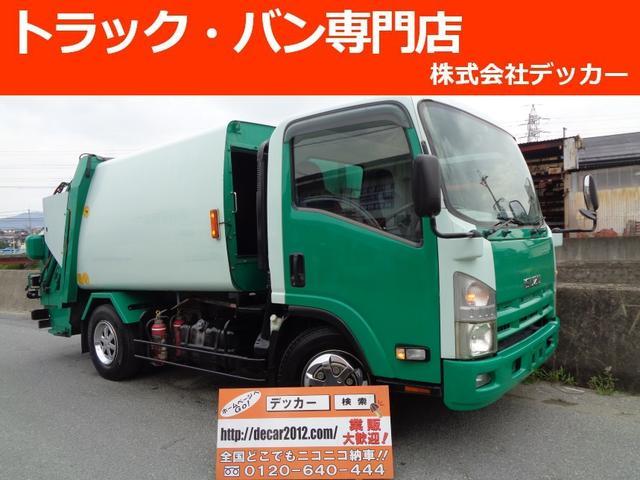 いすゞ 2.95トン プレス式6立米 パッカー 連続投入可能 NOX
