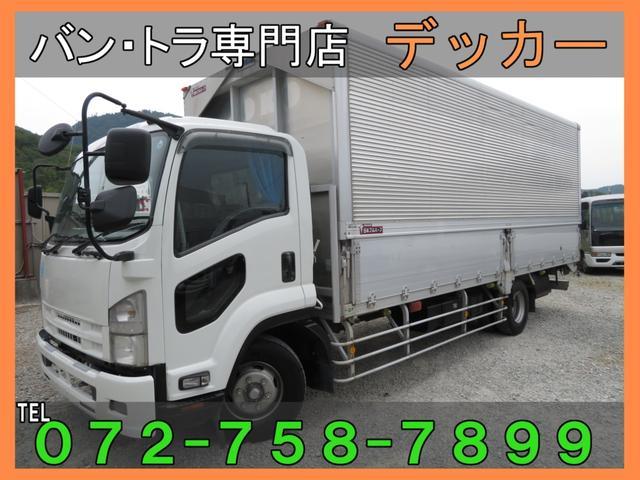 いすゞ 5.9トン増トン アルミワイドウイング 荷寸662-241