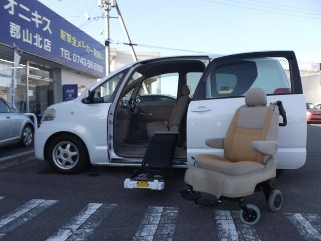 トヨタ 150r福祉車輛 助手席脱着式リフトアップシート