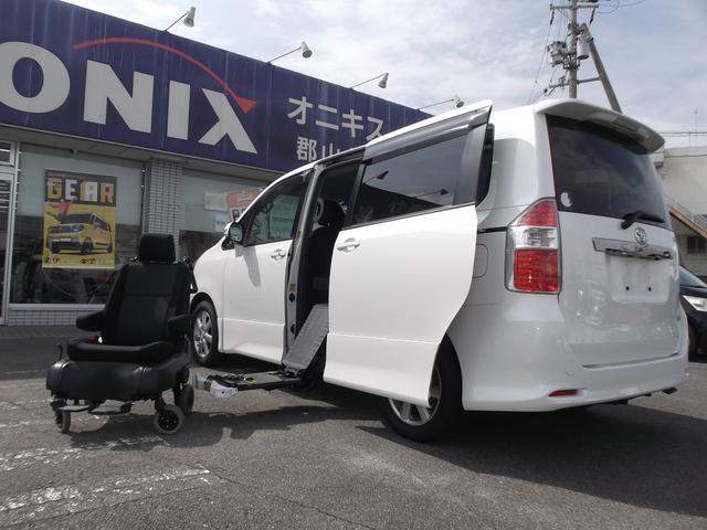 トヨタ Si福祉車輛 サイドリフトUP脱着式 ナビTV 両Pスラ