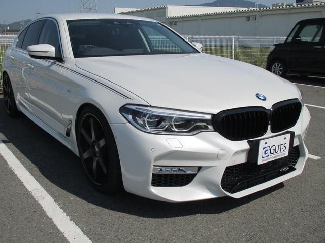 BMW 5シリーズ 523d ラグジュアリー M5仕様 NICHE20インチアルミ ローダウン ディーゼルターボ 純正ナビ・フルセグ パノラマビューカメラ ブラックレザーシート ETC