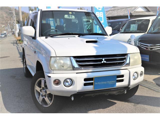 三菱 アクティブフィールドエディショ ン 4WD 社外ナビ 地デジ
