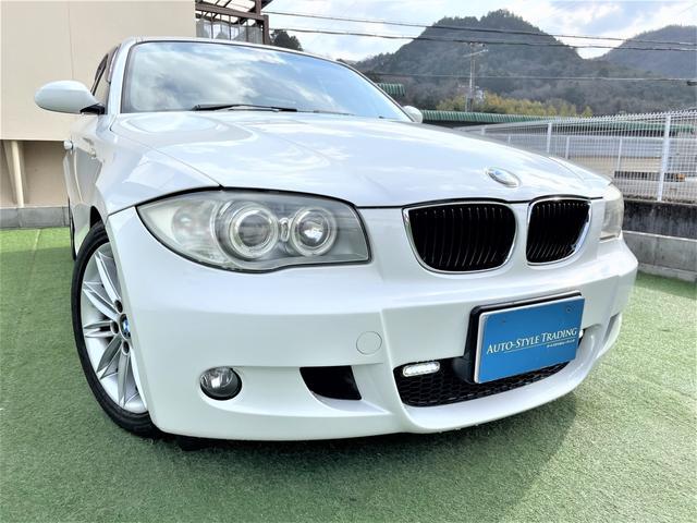 BMW 120i Mスポーツパッケージ 自社ユーザー買取 車高調 自社ユーザー買取 ナビ 地デジ ETC 車高調 ハーフレザー 純正アルミ