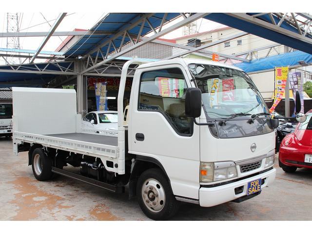 日産 アトラストラック 2トンロング バイク積載 垂直パワーゲート NOX適合