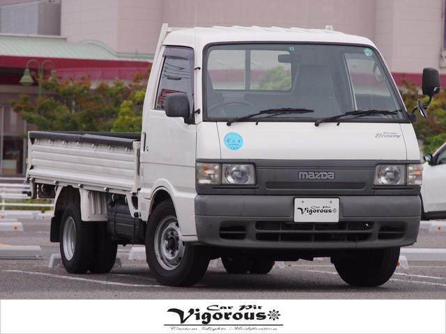 マツダ ボンゴブローニィトラック 1トン積載車後輪Wタイヤ ガソリン