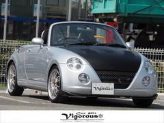 コペンアクティブトップ 車高調RAYS16AWHDDナビ外マフラー