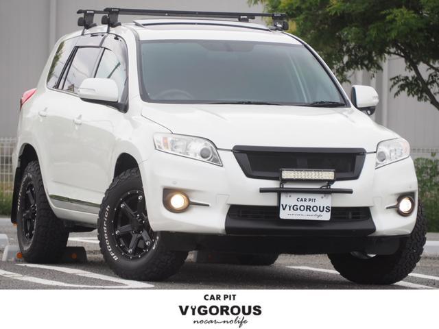 トヨタ ヴァンガード 240S ユーザー買取車 MKW16AW BFGoodrich ルーフキャリア サンルーフ LEDライトバー SDナビ 地デジ DVD Bluetooth スマートキー ETC フロントテーブル