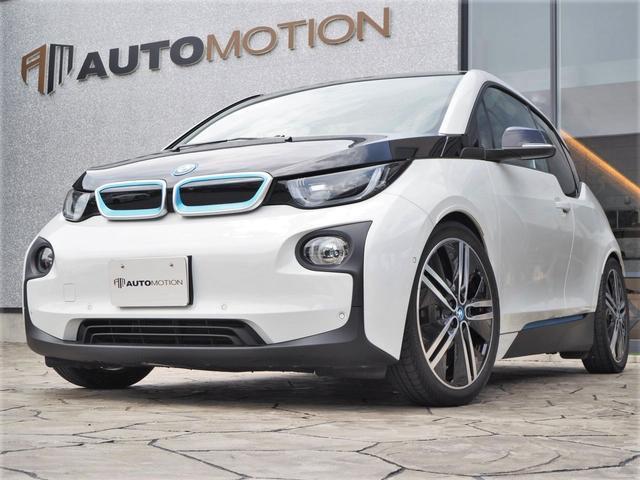 i3(BMW) スイート レンジ・エクステンダー装備車 ダークブラウン革シート/シートシーター(運転席/助手席)/ダ 中古車画像