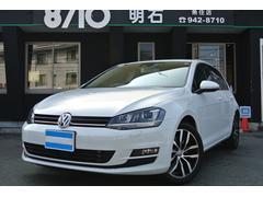 VW ゴルフTSIハイラインブルーモーションテクノロジー ナビTVDCC