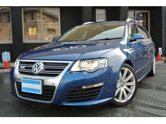 VW パサートヴァリアントR36 HDDナビ バックカメラ コーナーセンサー 4WD